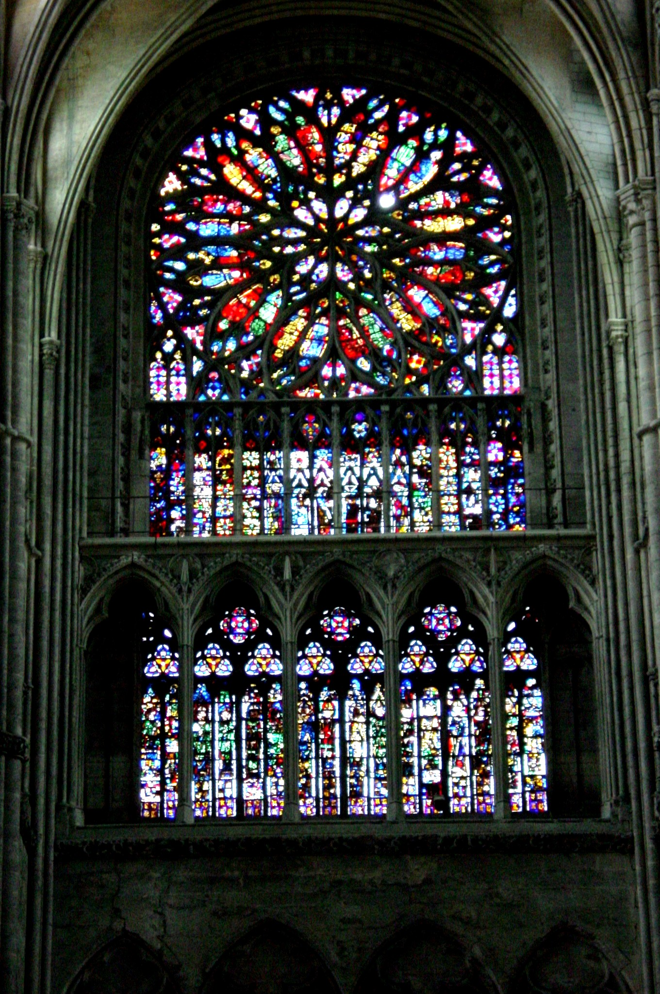 Amiens cathedral stained glas for Windows windows windows