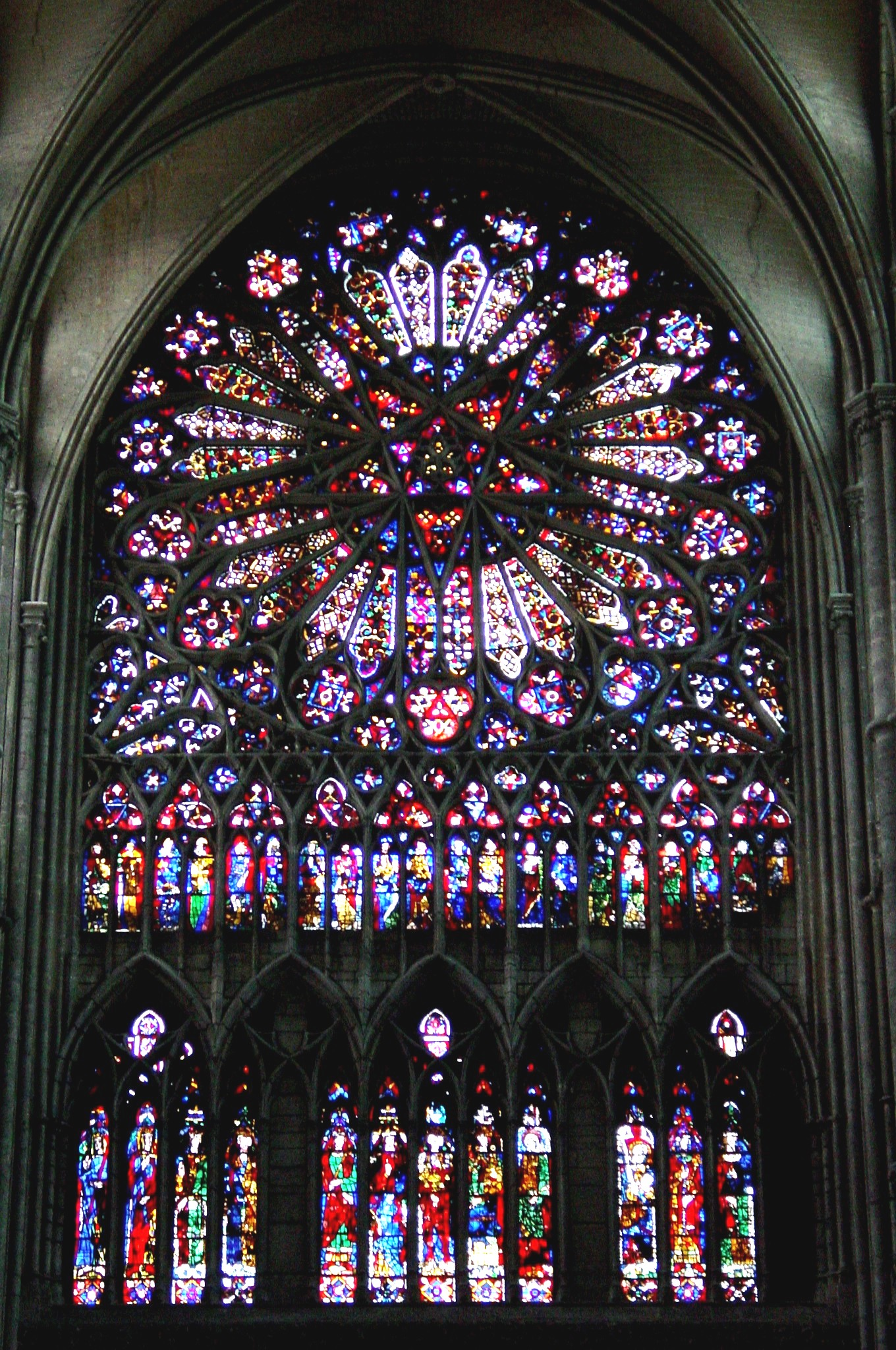 Amiens Cathedral Stained Glas